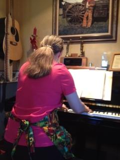 Jami at the piano 2015