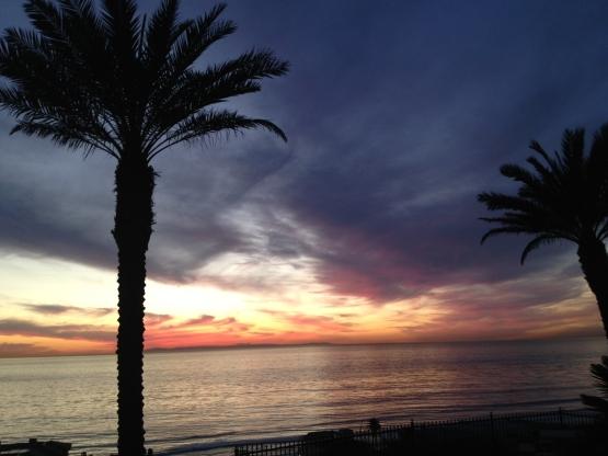 Sunset at Laguna Feb 2013